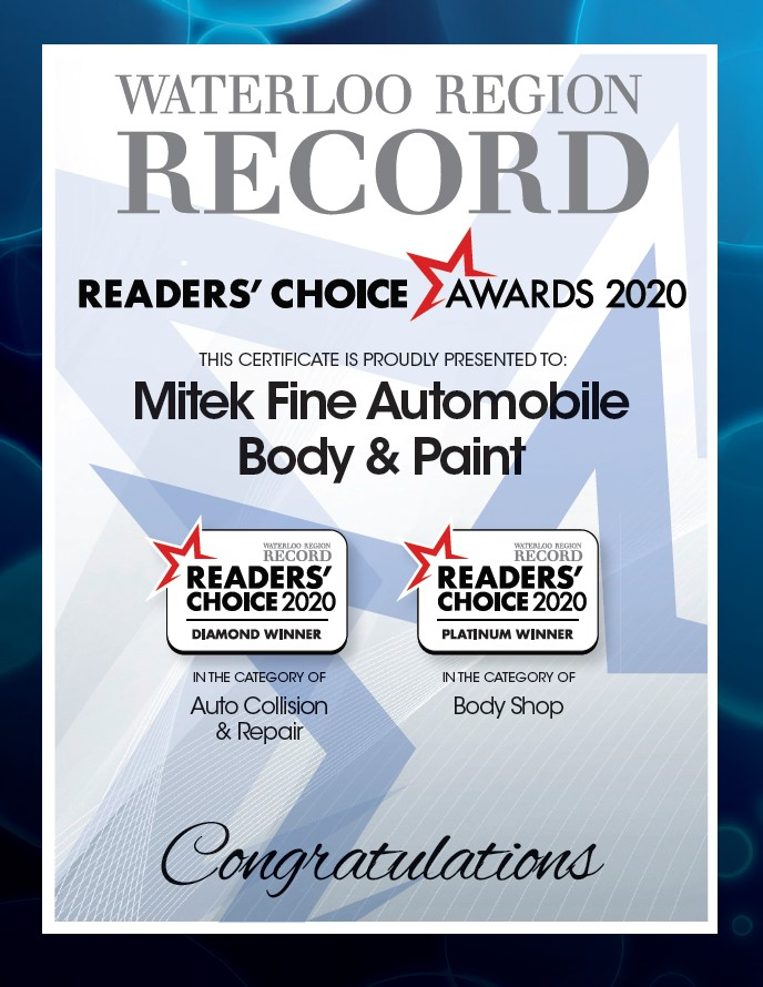 The Record Reader's Choice Winner